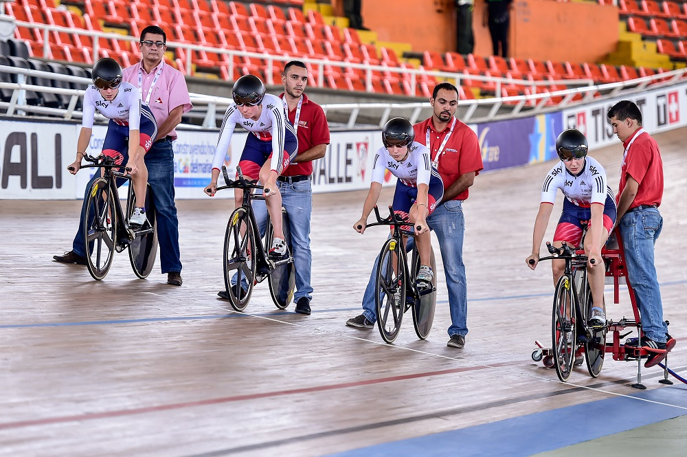 GB Cycling team training