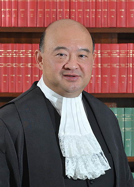 Portrait image of Chief Justice Geoffrey Ma
