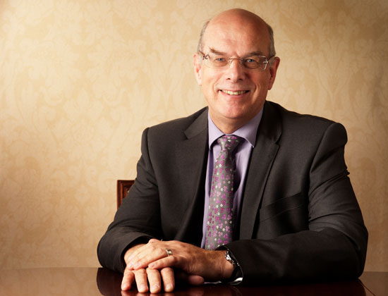 Vice-Chancellor Professor Sir David Eastwood