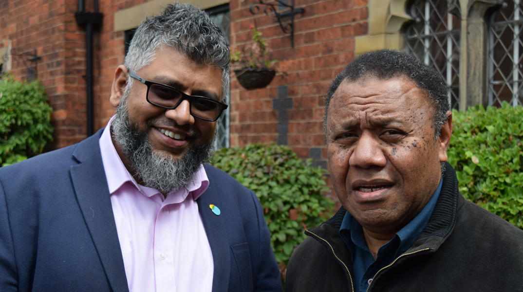 Social impact: Dr Mosese Dakunivosa and Saidul Haque, Citizens UK