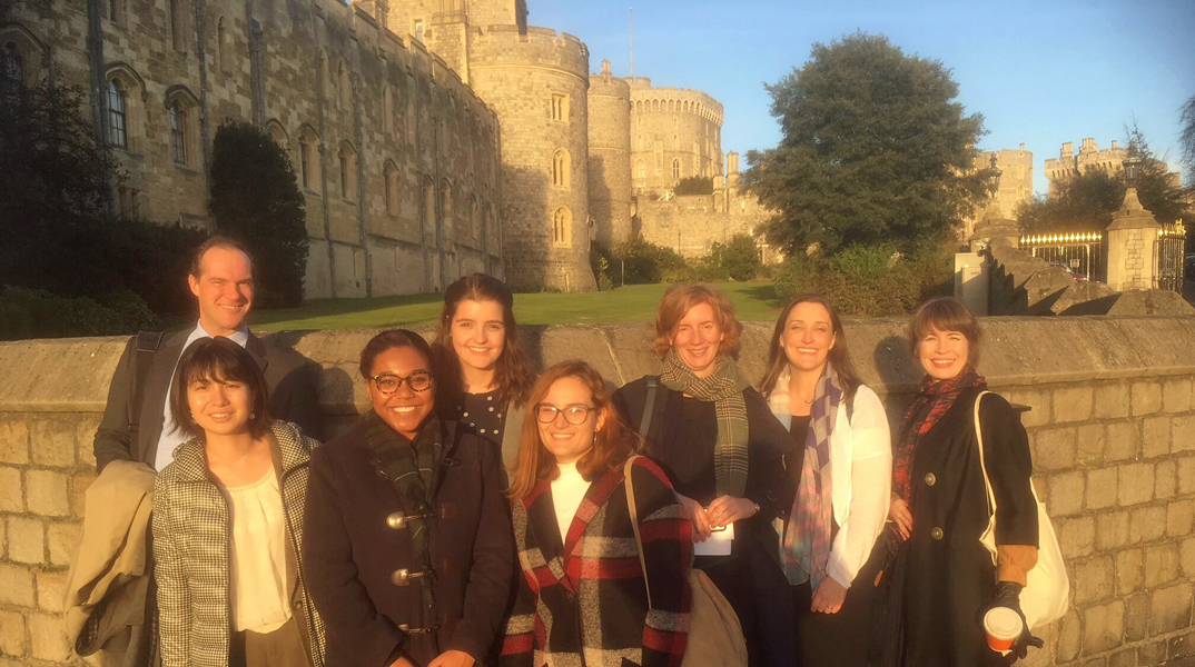 Birmingham MA students visiting Windsor Castle to co-curate an art exhibition for the Barber with the Royal Collection