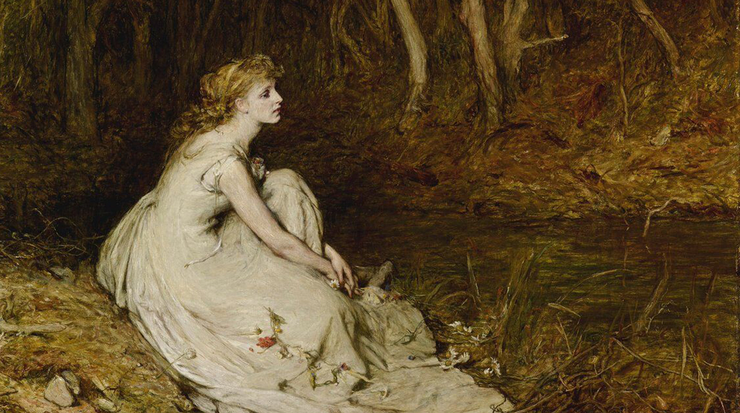William Quiller Orchardson's Ophelia, on display for the first time since 1874