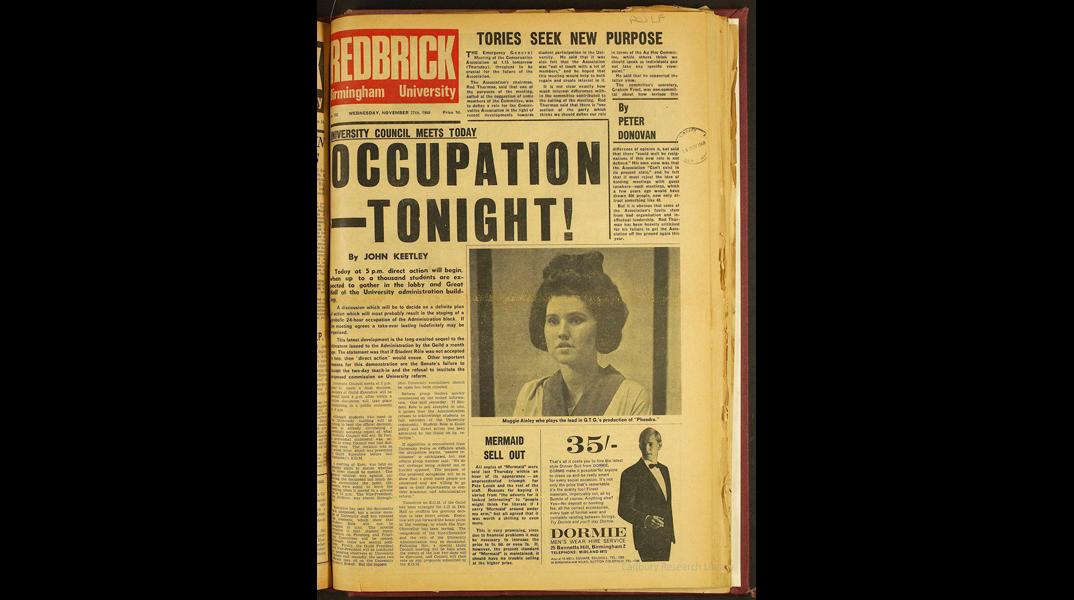 Redbrick, 27 November 1968