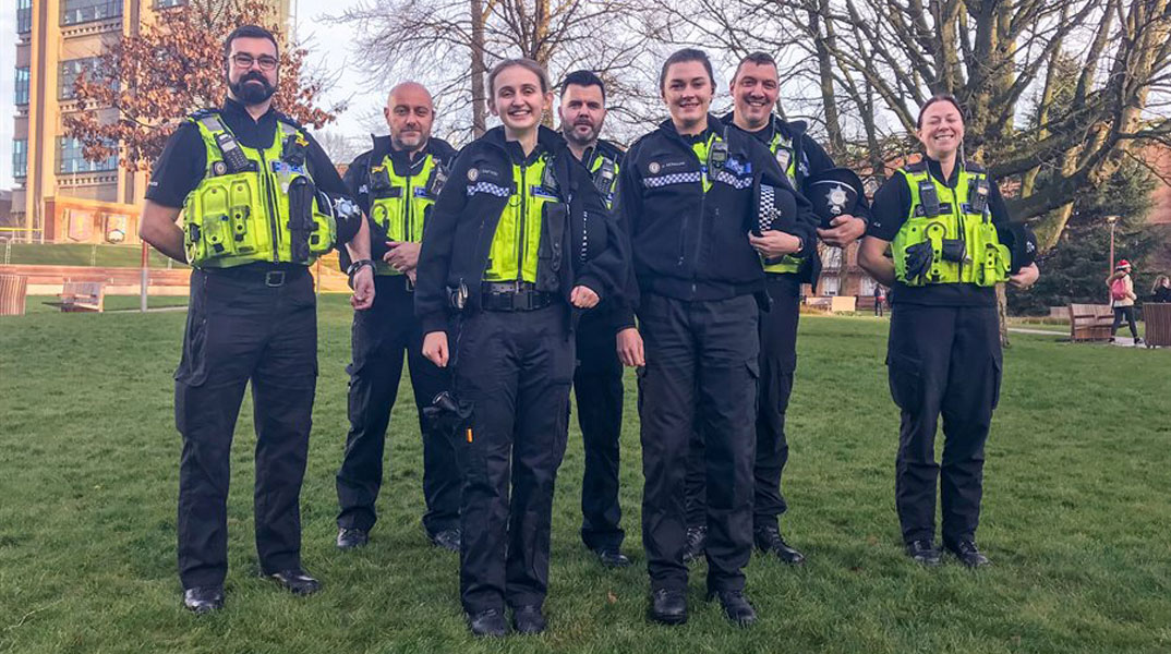 Student constables get a taste of policing